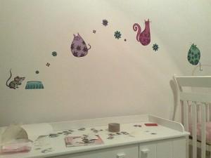 E.V.A. para quarto de bebês