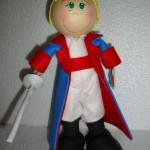 Boneco em 3D feito com E.V.A.