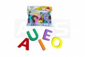 Alfabeto em E.V.A para crianças pequenas