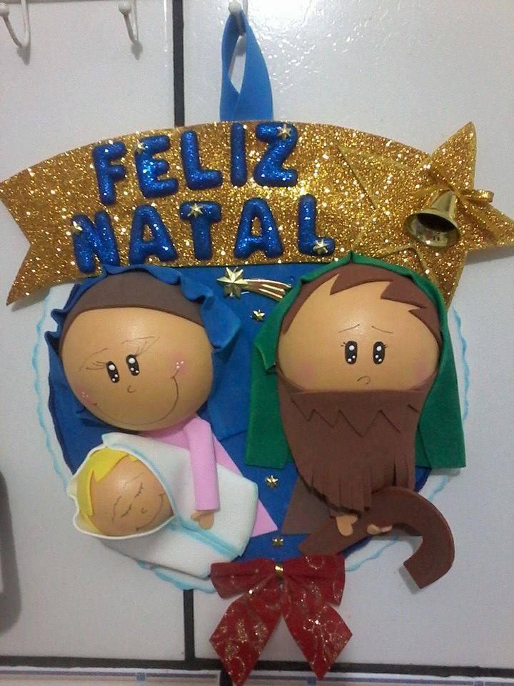 Decoraç u00e3o de Natal em E V A AMS -> Decoração Em Eva Natal